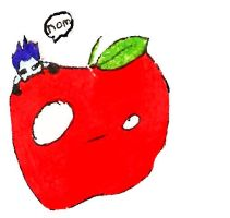 Ryuk's apple only by Rizu-chan13