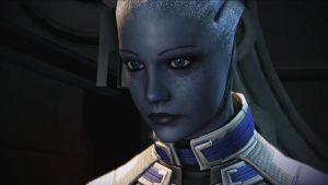 Close-Up of Liara by Revan654
