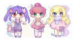 (closed thank you) cute worker batch! by MissZas