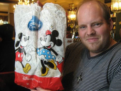 Me and my Disney Store bag by MortenEng21