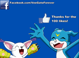 Thanks for the first 100 likes! by SabrosoVeemon