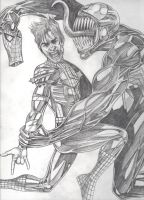 Spider-Man vs Venom by Gr8Powr