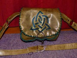 celtic Heart bag by funkydpression
