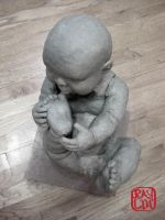 Life Size Baby Boy WIP 1 by artanis-one