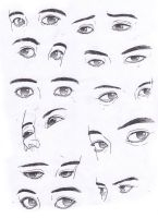 Eyes study by Osmar-Shotgun