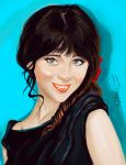 Zooey Deschanel. by manu4-20-5