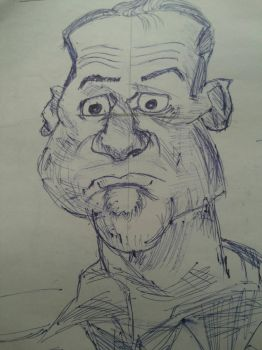 Doodling CariCatures by kev009