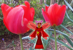 Tulip Fairy at Home by KittenKagome