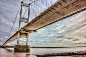 Old Severn Bridge by wkdlady