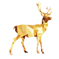 Low Poly Deer by SabrinaDeets