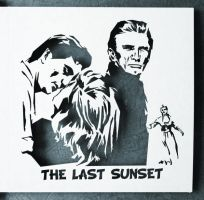The Last Sunset - laser card by Piciuu