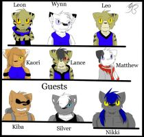 prolouge characters by ZWolfArt
