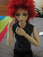 BJD - Axel in progress by ForeverFrabjous