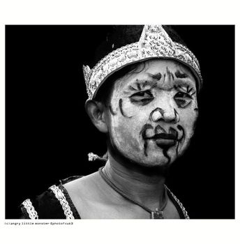 a portrait of mas gareng by kasualmonster
