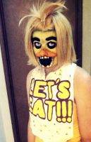 Chica- Cosplay FNAF by Nellers500