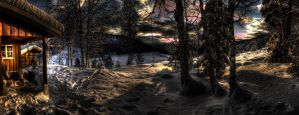Cabin HDR Panorama by DrySin