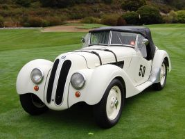 1938 BMW 328 convertible by Partywave