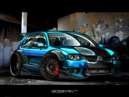 Need For Speed Pro Street VW by M3TE0R