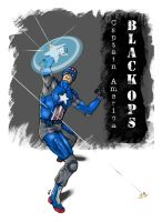 Capt America Black Ops. Color by shaotemp