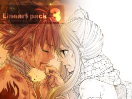 Lineart pack 2 and 3 by blanania