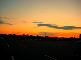 Sunset in the Car Park by Urban-Eye