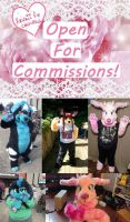 Commissions Page Open by Kawaii-fur-costumes