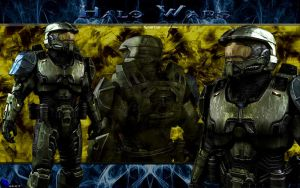 Halo Wars - Spartan by MarvelousMark