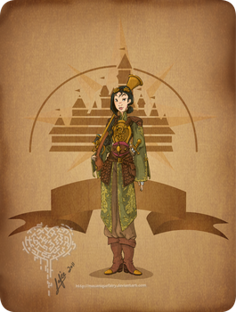 Disney steampunk: Mulan by MecaniqueFairy