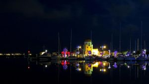 Gruissan by night 1 by Hubert11
