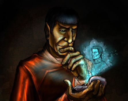 Spock Prime by crow821