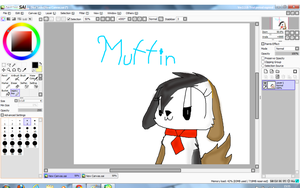 Muffin again by Muffinthedog