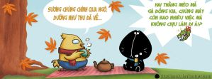 Autumm is coming by MeoMoc