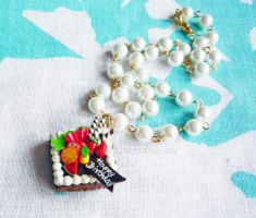 Square fruit cake charm pearl2 by Meow-Box