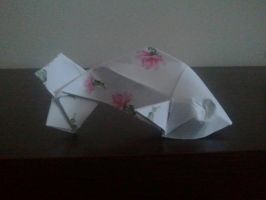 fancy origami fishy by TeukkiSS