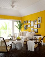 Bright Island Living Room by zodevdesign