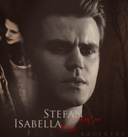 Stefan Salvatore Isabella Swan by N0xentra