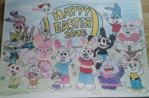 Happy Easter 2015 by BryanVelasquez87
