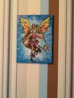 Winx Club Flora believix painting by DawnDP