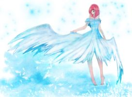 Blue wings by ririna-olze