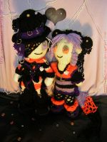 Halloween Wedding by sootstitch