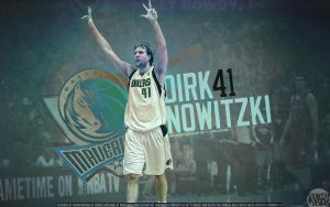 Dirk Nowitzki Wallpaper by IshaanMishra