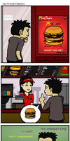 Fast Food Furious by azfar-90