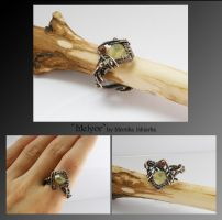 Melyor- wire wrapped ring by mea00