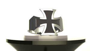 Iron Cross ring by xQUATROx