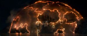 Snape in Hogwarts DH Wallpaper by Lilith1985