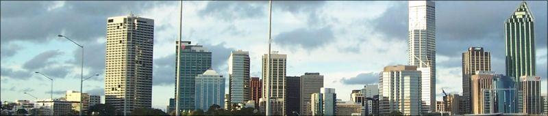 Perth Cityscape by kaniptian
