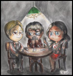 Hannibal chibis - Card game by FuriarossaAndMimma