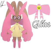 Alice the Lopunny by TheShinyFurfrou