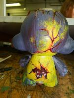 Devil Paint Munny -back- by Ahsayuni-Love