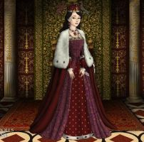 Anne Boleyn's actual Coronation Robes by LadyAquanine73551